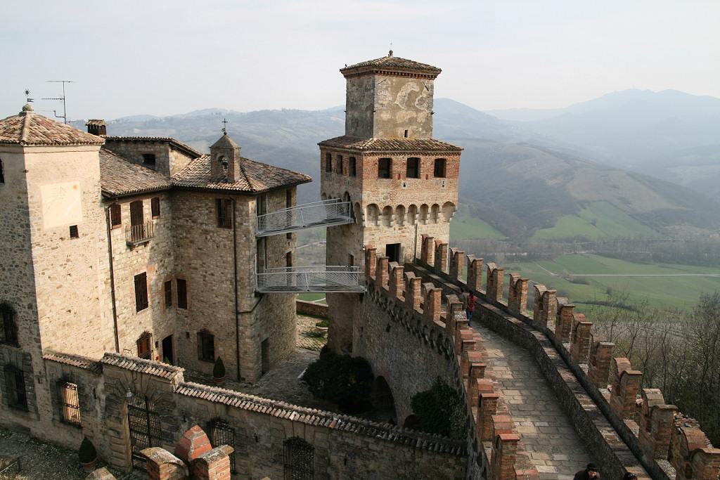 Veduta del Borgo di Vigoleno