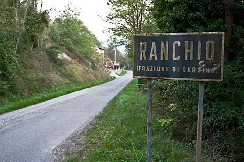 Frazione di Ranchio nel comune di Sarsina (FC)