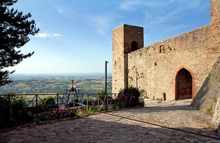 Montefiore Conca - Vista dalla Rocca Malatestiana