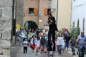 Borgo Bimbo - un momento dell'edizione precedente