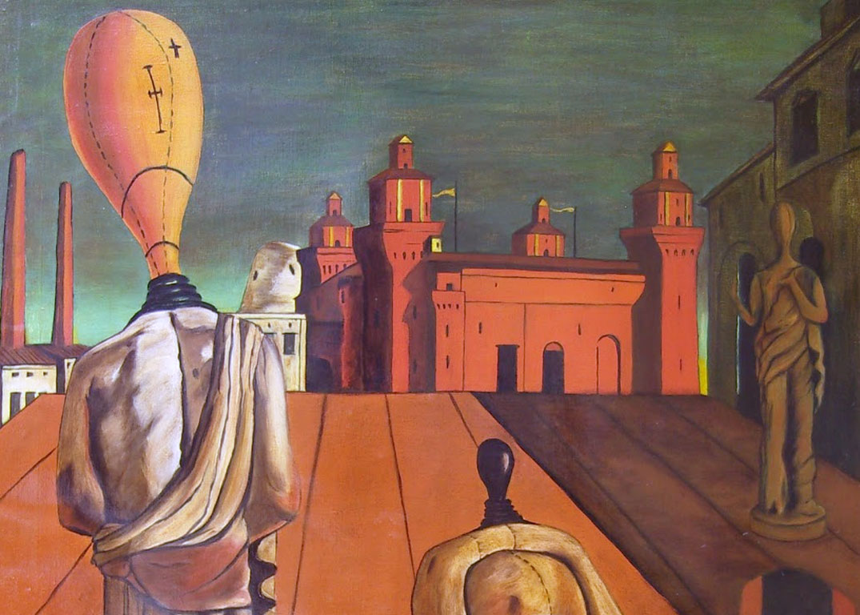 De Chirico - Le Muse Inquietanti