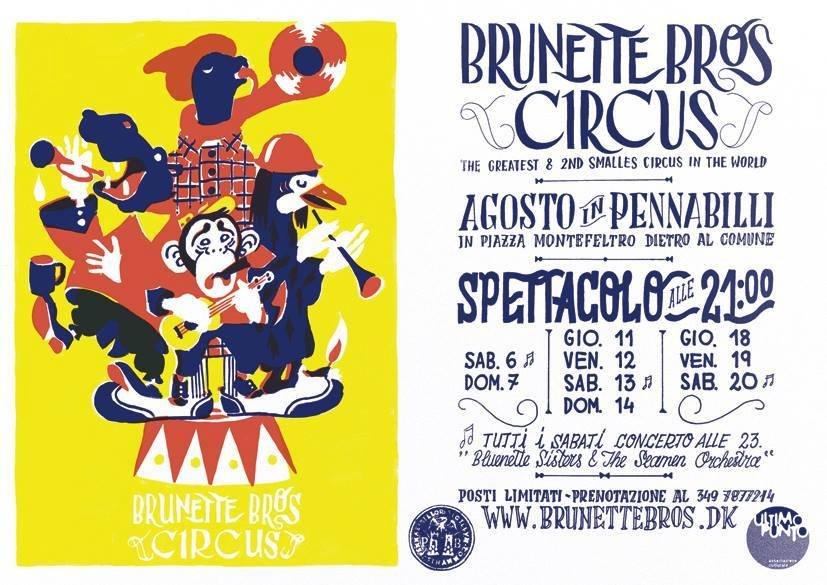Unpli Pro Loco Emilia Romagna - Brunette Bros Circus - Montefeltro