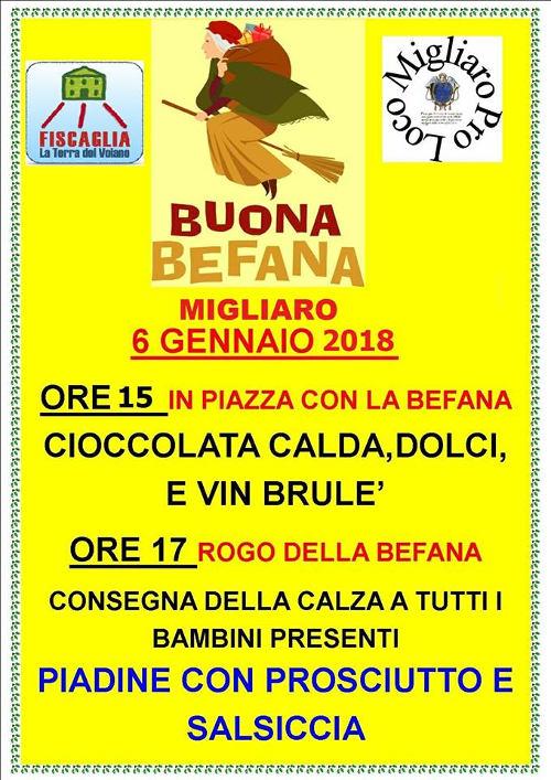 Buona Befana Pro Loco Emilia Romagna Unpli