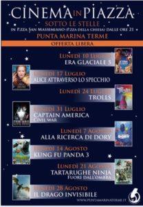 Cinema in Piazza @ Punta Marina Terme  (RA) | Punta Marina | Emilia-Romagna | Italia
