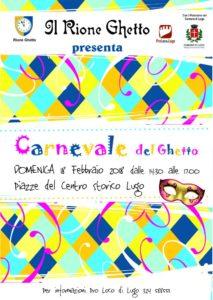 Carnevale del Ghetto 2018 - Il Carnevale della Città di Lugo @ Piazze del Centro Storico | Lugo | Emilia-Romagna | Italia