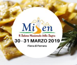 Misen: Salone Nazionale delle Sagre 2019 @ Ferrara    Ferrara   Emilia-Romagna   Italia