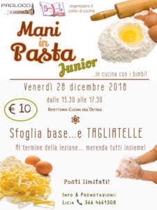 Mani in Pasta Junior @ Santa Sofia (FC)   Santa Sofia   Emilia-Romagna   Italia