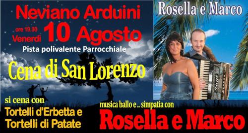 Cena di San Lorenzo @ Neviano degli Arduini (PR) | Emilia-Romagna | Italia