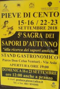 Sagra dei Sapori d'Autunno @ Pieve di Cento (BO) | Pieve di Cento | Emilia-Romagna | Italia