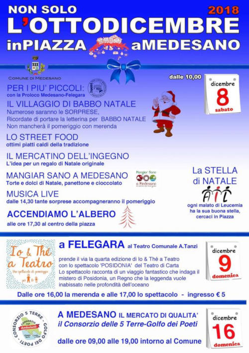 L'Otto Dicembre in Piazza a Medesano @ Medesano PR | Medesano | Emilia-Romagna | Italia