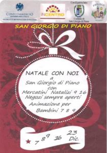 Natale con Noi @ San Giorgio di Piano (BO) | San Giorgio di Piano | Emilia-Romagna | Italia
