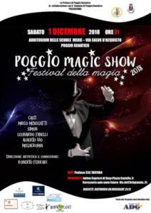 Poggio Magic Show @ Poggio Renatico (FE)    Poggio Renatico   Emilia-Romagna   Italia