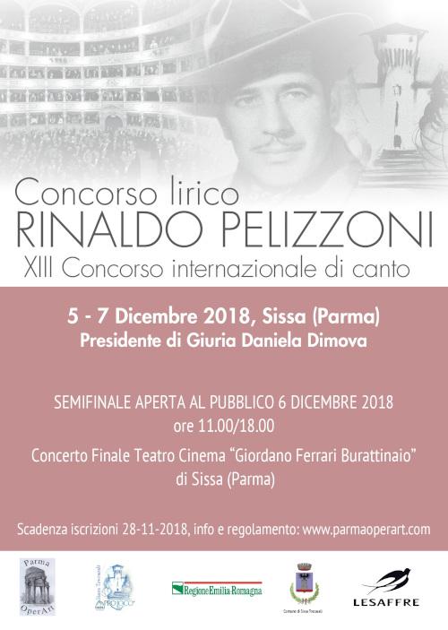 Concorso Lirico Rinaldo Pelizzoni