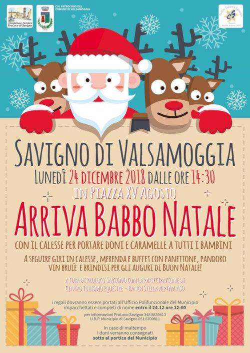 Auguri Di Buon Natale Ufficio.Arriva Babbo Natale Pro Loco Emilia Romagna Unpli