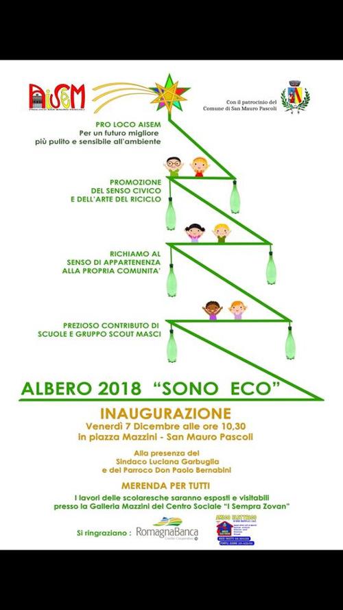 """Albero 2018 """"Sono Eco"""""""