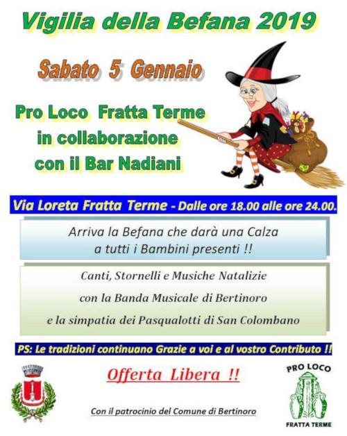Vigilia Della Befana 2019 Pro Loco Emilia Romagna Unpli