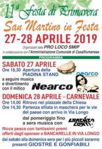 Festa di Primavera @ San Martino in Pedriolo (BO)