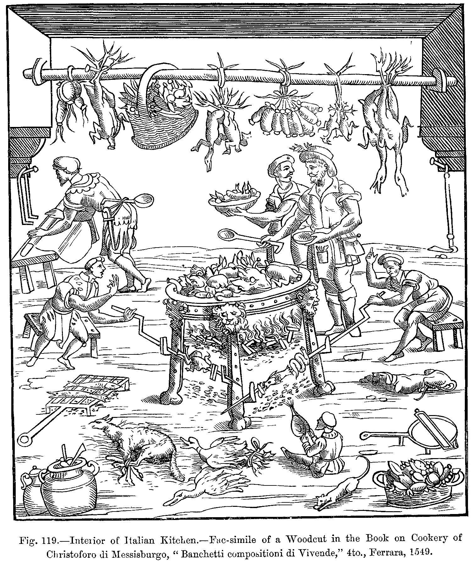 Dal libro di cucina di Cristoforo da Messisbugo - La Cucina ferrarese