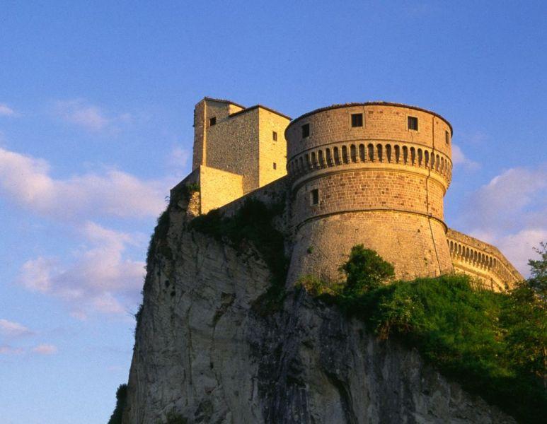 Uno scorcio della Fortezza di San Leo