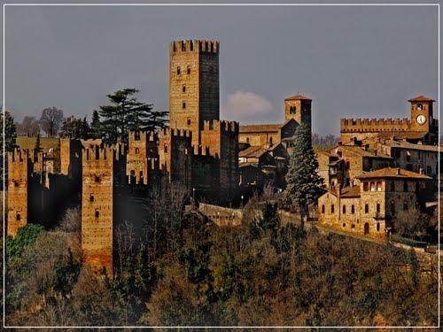 Castell'Arquato, vista sul borgo