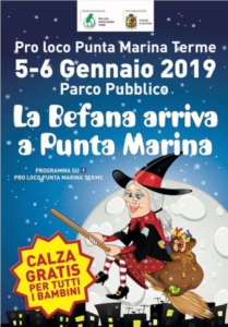 Arriva la Befana a Punta Marina Terme @ Punta Marina Terme (RA) | Punta Marina | Emilia-Romagna | Italia