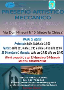 Presepio Artistico Meccanico @ Serravalle FE | Serravalle | Emilia-Romagna | Italia