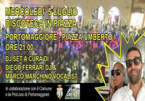 Discoteca in Piazza @ Piazza Umberto I | Portomaggiore | Emilia-Romagna | Italia