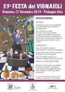 53° Festa dei Vignaioli @ Predappio Alta FC | Predappio Alta | Emilia-Romagna | Italia