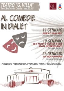 Al comedie in dialet @ Sant'Andrea in Casale RN | Sant'Andrea In Casale | Emilia-Romagna | Italia