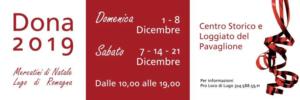 DONA Mercatini di Natale @ Logge del Pavaglione, Lugo (RA) | Lugo | Emilia-Romagna | Italia