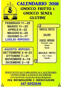Gnocco Fritto e Senza Glutine @ Bagnolo in Piano (RE) | Bagnolo In Piano | Emilia-Romagna | Italia