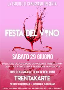 Festa del Vino @ Camugnano (BO) | Camugnano | Emilia-Romagna | Italia