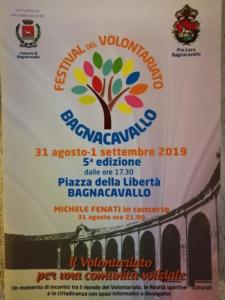 Festival del volontariato @ Bagnacavallo RA | Bagnacavallo | Emilia-Romagna | Italia