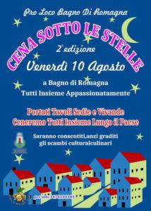 Cena Sotto le Stelle @ Bagno di Romagna Terme (FC) | Bagno di Romagna | Emilia-Romagna | Italia