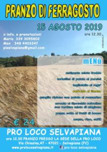 Pranzo di Ferragosto @ Selvapiana (FC) | Selvapiana | Emilia-Romagna | Italia