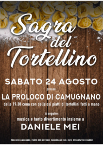 Sagra del Tortellino @ Camugnano (BO) | Camugnano | Emilia-Romagna | Italia