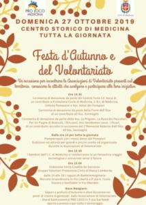 Festa d'Autunno e del Volontariato @ Medicina (BO) | Emilia-Romagna | Italia