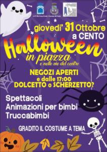 Festa di Halloween a Cento @ Cento (FE) | Cento | Emilia-Romagna | Italia