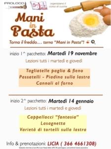 Mani in pasta @ Santa Sofia (FC) | Emilia-Romagna | Italia