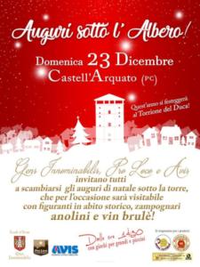Auguri sotto l'albero! @ Castell'Arquato PC