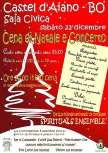 Cena di Natale e Concerto @ Castel d'Aiano (BO)
