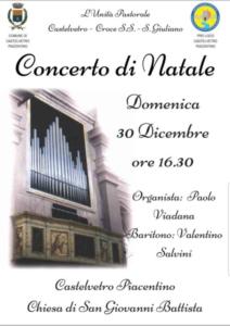 Concerto di Natale @ Castelvetro Piacentino (PC)