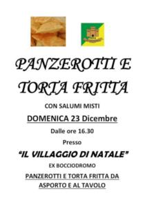 Panzerotti e Torta Fritta @ Bazzano di Parma PR