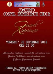 Concerto Gospel Experience Choir @ Poggio Renatico (FE)