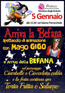 Arriva la Befana @ Neviano degli Arduini (PR)