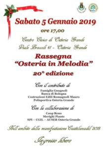 """Rassegna """"Osteria in Melodia"""" @ Castel San Pietro Terme (BO)"""