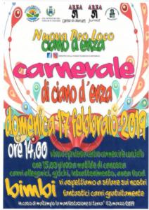 Carnevale di Ciano d'Enza @ Ciano d'Enza (RE)