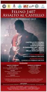 Felino 1407 - Assalto al Castello @ Felino (PR)