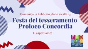Festa del Tesseramento @ Concordia (MO)