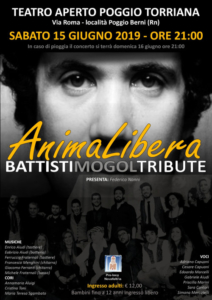 Animalibera _Battisti e Mogol Tribute